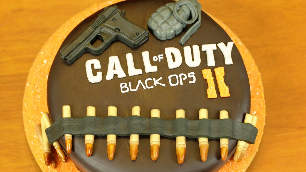 Black Ops 2 Cake Nerdy Nummies Youtube
