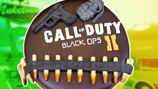 Black Ops  Cake Ner