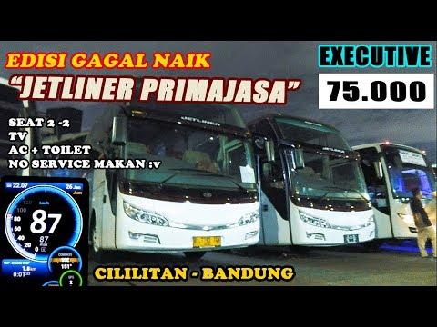 JAKARTA-BANDUNG 3 JAM!! On Board Bus Primajasa Eksekutif Class (Pool Bus Primajasa Cililitan)
