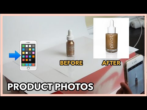 HOW TO TAKE AND EDIT YOUR PRODUCT PHOTOS FROM YOUR IPHONE | COSMETICS, LASHES, SKINCARE