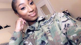 Military Makeup  How I do My Makeup In Uniform Professional Makeup