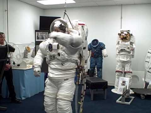 putting on a space suit-#10