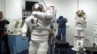 Space suit testing ILC of Dover.wmv