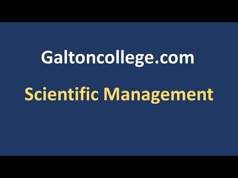 N0911H  Scientific Management