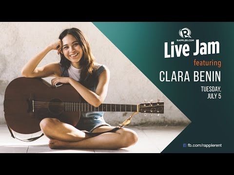 Rappler Live Jam: Clara Benin