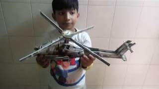 How to make a Paper Helicopter | Easy Paper Toys: Paper Helicopter | Kids Helicopter Videos