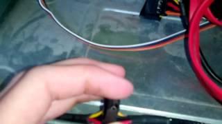 Самоделака #1 Как сделать подсветку для клавиатуры(Всем привет с вами ВОВАН Сегодня я научу как сделать подсветку для клавиатуры от бп(блока питания)компютер..., 2015-08-31T20:08:05.000Z)