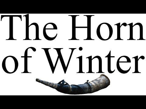 (Spoilers ADWD) Alt-Shift-X: The Horn of Winter