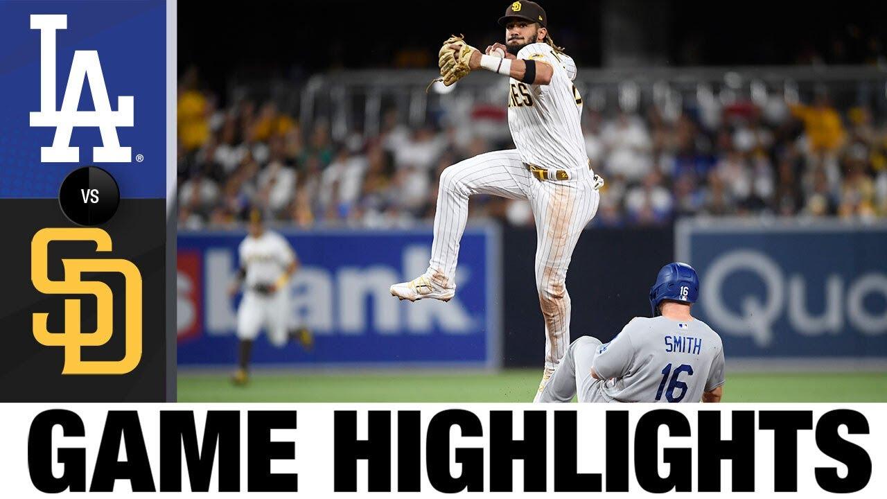 Dodgers vs. Padres Game Highlights (6/23/21) | MLB Highlights