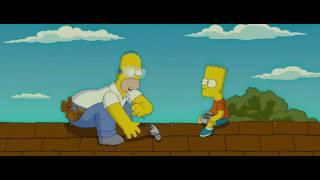 Симпсоны в кино слегка альтернативная концовка