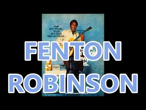 FENTON ROBINSON radio ad for Newport
