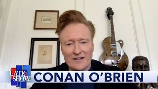 Conan O'Brien And Stephen Colbert: Whose Show Is This Show?