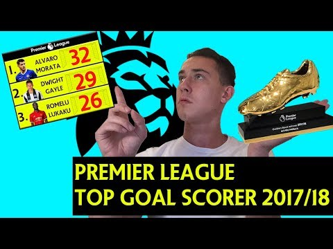 2017/2018 PREMIER LEAGUE TOP GOAL SCORER PREDICTIONS !