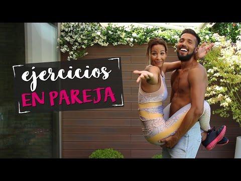 Tamara Gorro y el futbolista Ezequiel Garay: sensual clase de gym