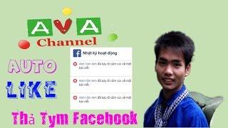 Cài Auto Like, Auto thả Tym cho facebook | Tăng độ tương tác Facebook bằng auto like auto thả tim