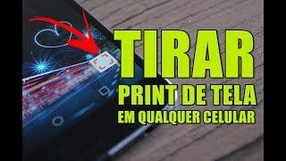 Válido para qualquer Celular Android! Maneira mais FÁCIL de TIRAR PRINT da Tela