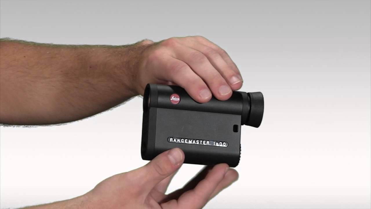 Leica Entfernungsmesser Crf : Leica rangemaster 1600 rangefinder youtube