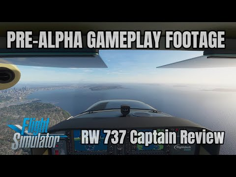 Microsoft Flight Simulator 2020 | PRE-ALPHA Gameplay Footage | 737 Captain Review