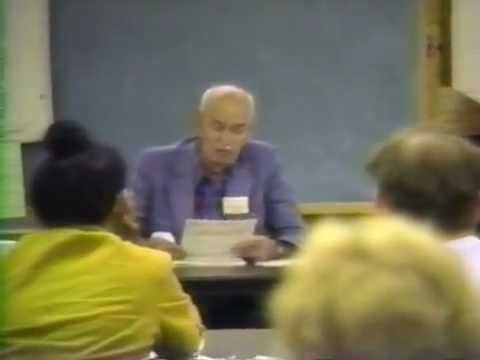"""""""General Semantics Summer Seminar 1992"""" - A Recap Video"""