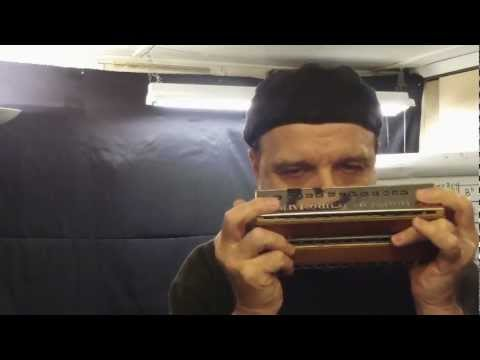 Bass & Chord Harmonica : Benefit of Mr. Kite - Demo Rob Paparozzi