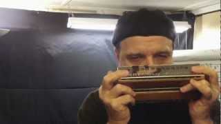 Bass & Chord Harmonica : Benefit of Mr. Kite - Demo Rob Paparozzi