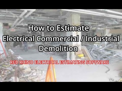 How to Estimate Commercial / Industrial Demolition (Demo)