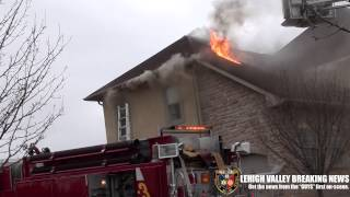 Bushkill Twp House Fire 3-11-13