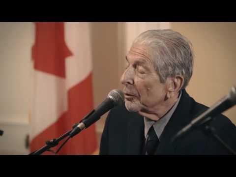 Leonard Cohen: You Want it Darker press conferece