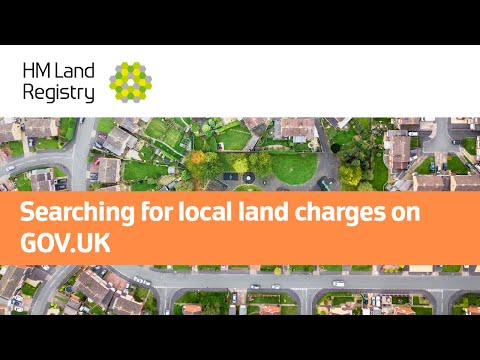 Searching For Local Land Charges On GOV.UK