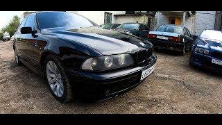 BMW E39 Черная на черном