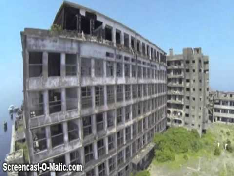 Hashima island ( UNKLE ft. Moby - God Moving Over The Face Of The Waters (Neurosis Remix)