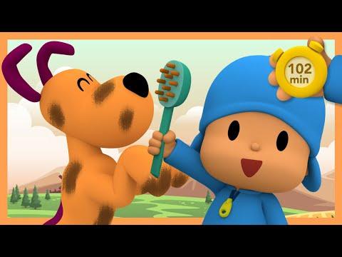 🚿POCOYO AND NINA - Most Viewed: Third Season [102 min] ANIMATED CARTOON for Children  FULL episodes