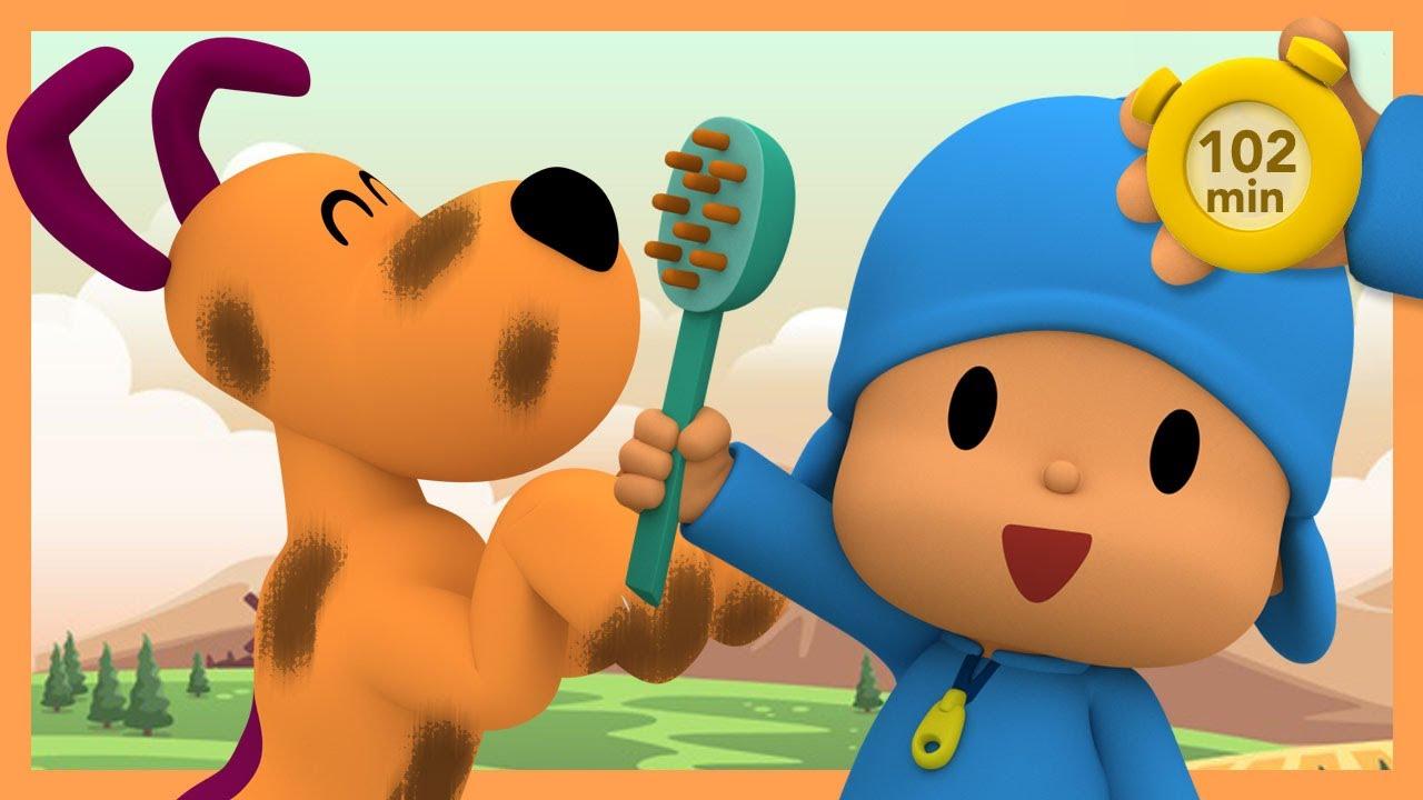 🚿POCOYO AND NINA - Most Viewed: Third Season [102 min] ANIMATED CARTOON for Children |FULL episodes