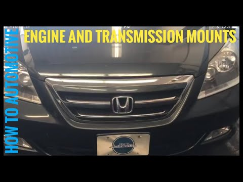 How to Replace All the Engine and Transmission Mounts on a 2005-2010 Honda Odyssey