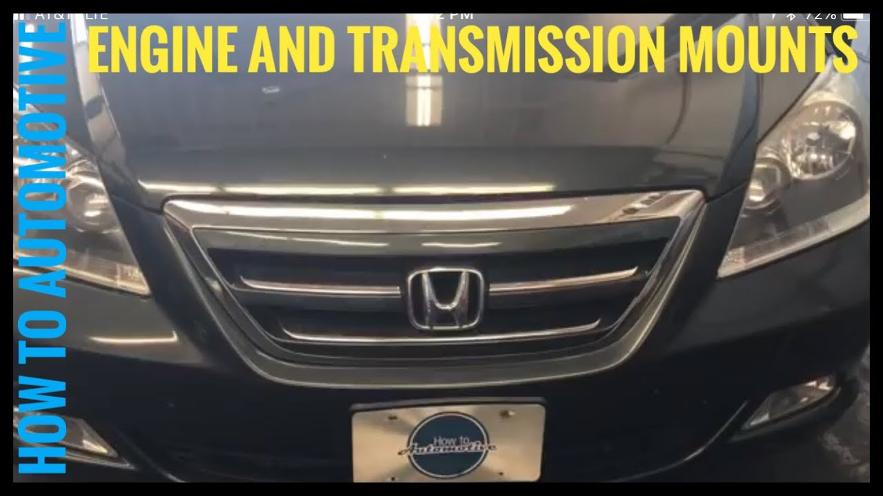 How To Replace All The Engine And Transmission Mounts On A 2005 2010 2006 Honda Pilot Diagram With Labels Free Image