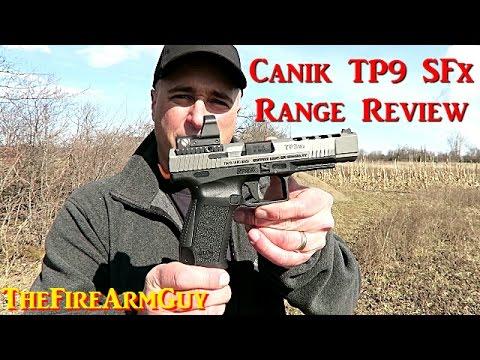 Canik TP9 SFx Range Review - TheFireArmGuy