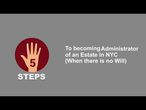 How to Become Administrator of a NYC Estate - Regina Kiperman, RK Law PC -