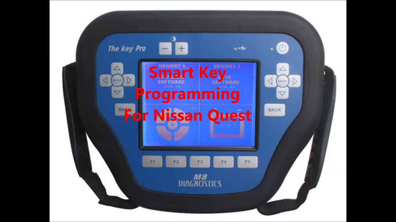 nissan intelligent key programming instructions