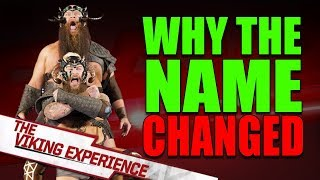 The REAL Reason Why WWE Changed War Raiders Name to The Viking Experience!
