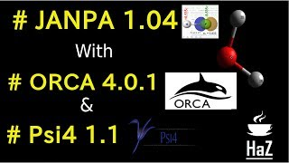 Quantum Chemistry ; (NPA) Natural Population Analysis: JANPA with ORCA and Psi4 programs