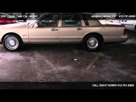 1997 lincoln town car signature series for sale in