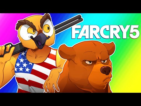 Far Cry 5 Funny Moments - Wildcat's American Tour!