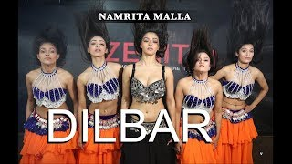 DILBAR Dance Choreography New | Satyameva Jayate | Nora Fatehi Belly dance | Zenith Dance India