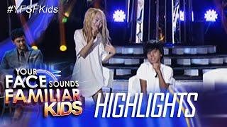 Your Face Sounds Familiar Kids: Awra, di nagpatalo kay AC as Sandara Park