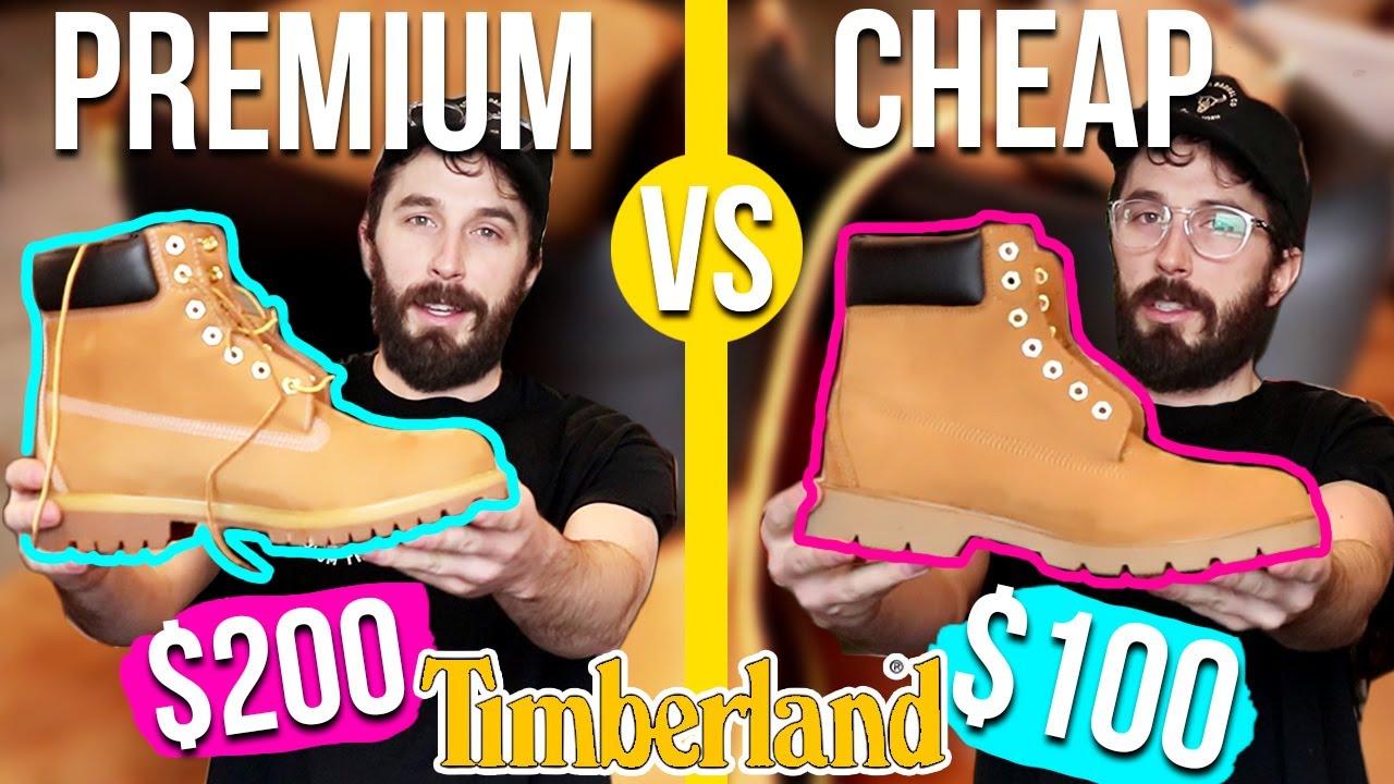 tidlös design bästa skor beställa online Premium Timberland VS Basic Timberland Boots - (6 INCH ...