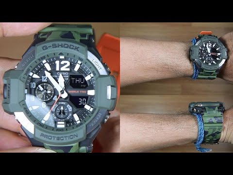 CASIO G-SHOCK GRAVITYMASTER GA-1100SC-3A - UNBOXING