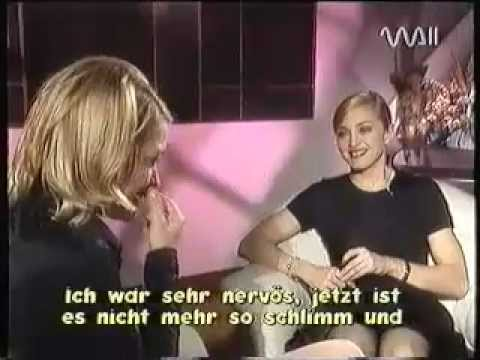 Madonna - Rare Interview with Heike Makatsch - PART 5 Last part