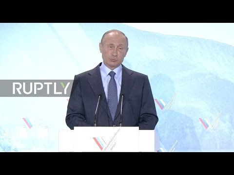 LIVE: Putin takes part in All-Russia People's Front meeting in Yalta