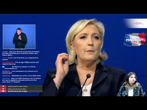 Le Pen ennemie de la finance ! [Meeting commenté de Marine l