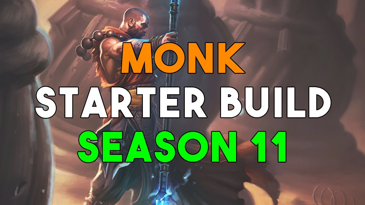 Diablo  Monk Build Season  Free Set